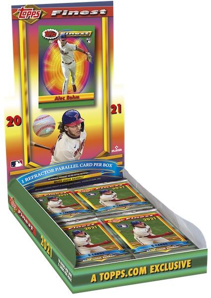 2021 Topps Finest Flashbacks Baseball Cards Checklist 4
