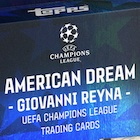 2021 Topps Giovanni Reyna American Dream Curated UEFA Champions League Soccer Cards