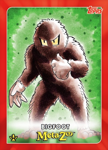 2021 Topps MetaZoo Cryptid Nation Series 0 Cards Checklist 3