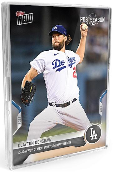 2021 Topps Now Postseason Baseball Cards 1