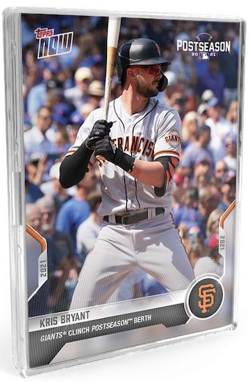 2021 Topps Now Postseason Baseball Cards 2