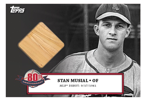 2021 Topps Stan Musial 80th Anniversary Baseball Cards 3