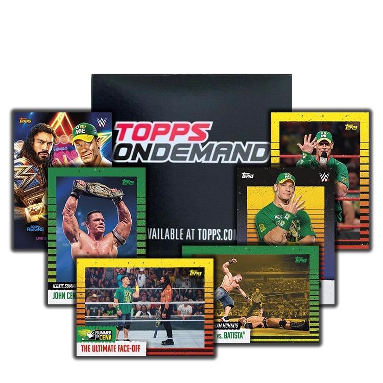 2021 Topps WWE Summer of Cena Wrestling Cards 3
