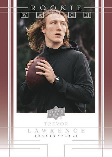 2021 Upper Deck Rookie Watch Football Cards 2