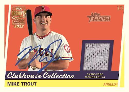 2022 Topps Archives Signature Series Active Player Edition Baseball Cards 2