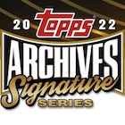 2022 Topps Archives Signature Series Active Player Edition Baseball Cards