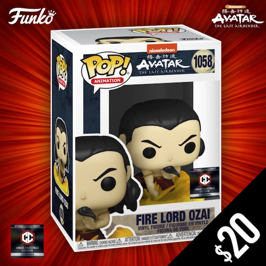 Ultimate Funko Pop Avatar The Last Airbender Figures Gallery and Checklist 28