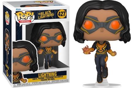 Funko Pop Black Lightning Figures 3