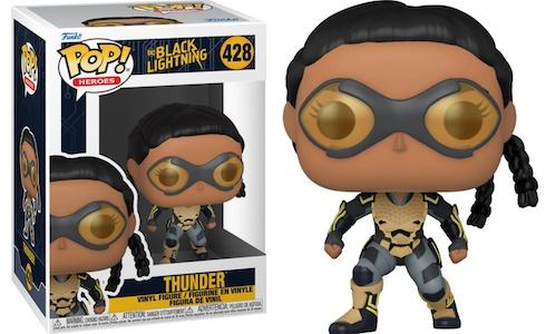 Funko Pop Black Lightning Figures 4