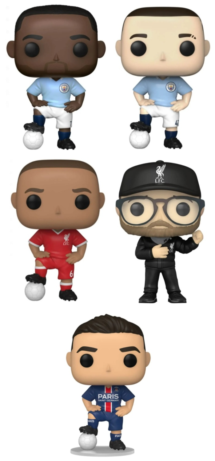 Ultimate Funko Pop Football Soccer Figures Gallery and Checklist - 2021 Figures 45