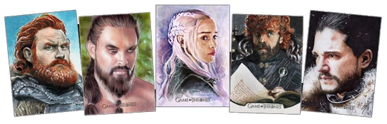 2021 Rittenhouse Game of Thrones Iron Anniversary Series 2 Trading Cards 1
