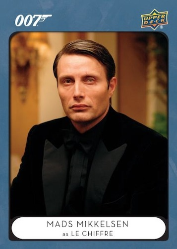 2021 2020 Upper Deck James Bond Villains & Henchmen Trading Cards Checklist 3
