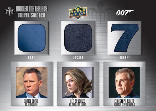 2021 2020 Upper Deck James Bond Villains & Henchmen Trading Cards Checklist 8