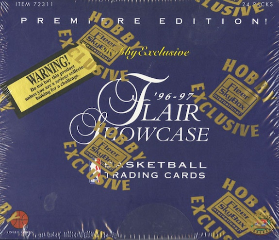 1996-97 Flair Showcase Basketball Cards 9