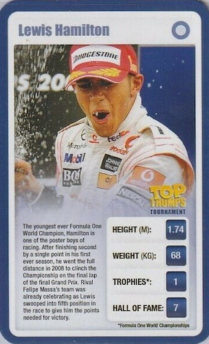 Top Lewis Hamilton Cards to Collect 3