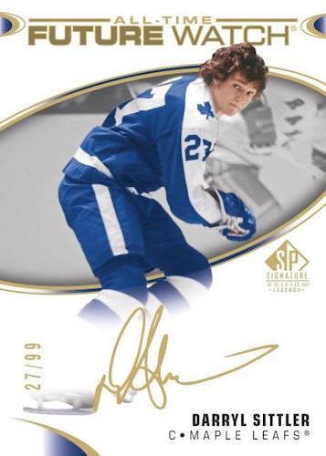 2020-21 SP Signature Edition Legends Hockey Cards 2