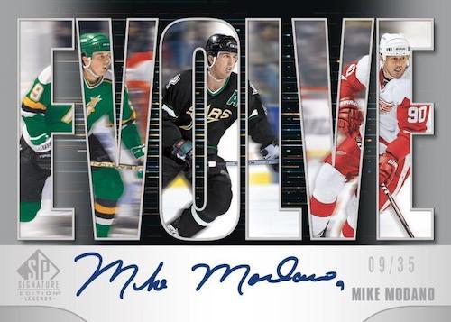 2020-21 SP Signature Edition Legends Hockey Cards 5