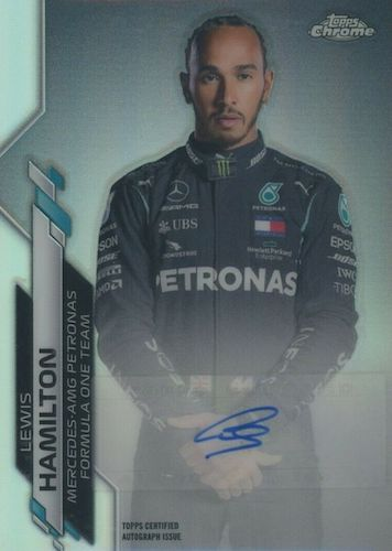 Top Lewis Hamilton Cards to Collect 6
