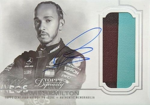 Top Lewis Hamilton Cards to Collect 9