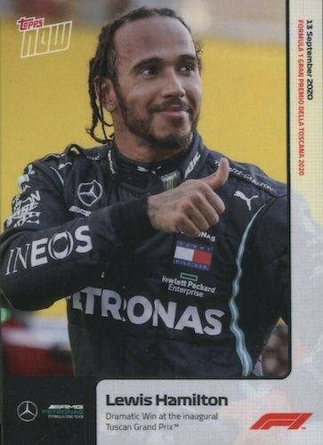Top Lewis Hamilton Cards to Collect 10