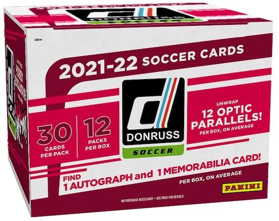 2021-22 Donruss Soccer