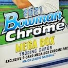 2021 Bowman Chrome Mega Box Baseball Cards