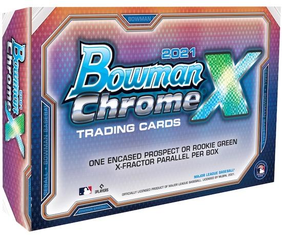 2021 Bowman Chrome X Baseball Cards Checklist 4