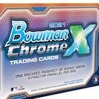 2021 Bowman Chrome X Baseball Cards Checklist