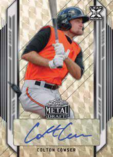 2021 Leaf Metal Draft Baseball Cards 2