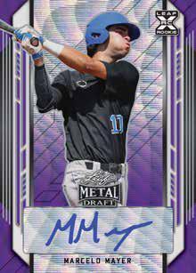 2021 Leaf Metal Draft Baseball Cards 1