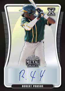 2021 Leaf Metal Draft Baseball Cards 3