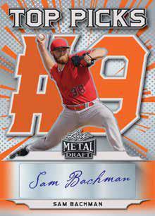 2021 Leaf Metal Draft Baseball Cards 6