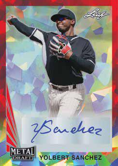 2021 Leaf Metal Draft Baseball Cards 4