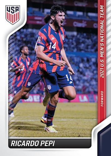 2021 Panini Instant US National Team Set Soccer Cards 2