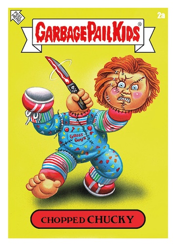 """2021 Topps Garbage Pail Kids Exclusive Trading Cards Checklist - Comic Con """"Oh the Horrible!"""" 2"""
