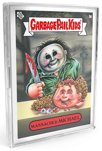 """2021 Topps Garbage Pail Kids Exclusive Trading Cards Checklist - Comic Con """"Oh the Horrible!"""" 1"""