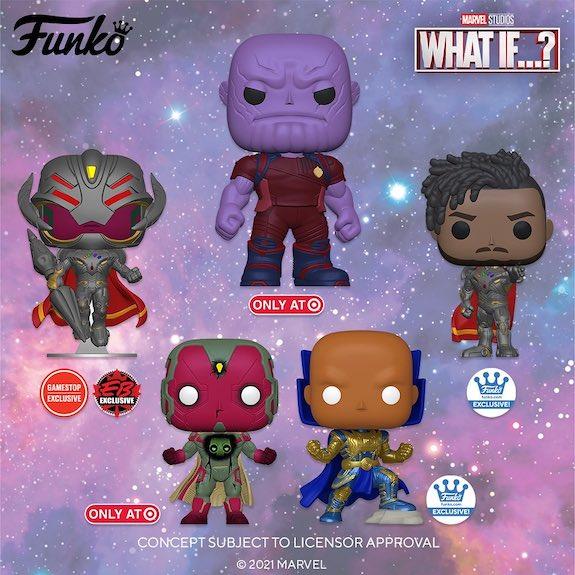Funko Pop Marvel What If...? Figures 30