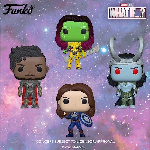 Funko Pop Marvel What If...? Figures 29