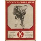 1933-34 V252 Canadian Gum Hockey Cards